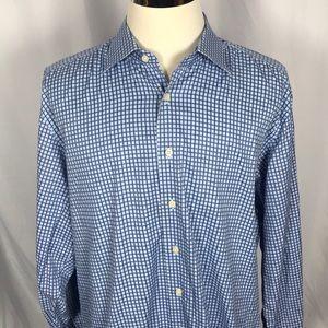 Charles Tyrwhitt checkered button down shirt
